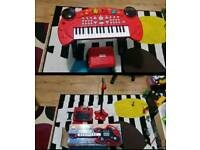Chad valley sing along Keyboard, Stand & Stool only been used couple times.
