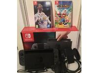 Nintendo Switch- 2 games inculded