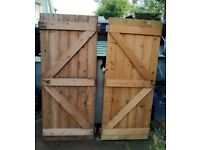Shed Doors X 2. Very Good Condition. £25