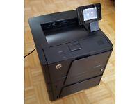 HP LaserJet Pro 400 M401dn Laser Printer + Extra HP CF284A 500 Sheet Tray Office