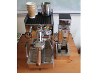 Noveseinove Elba 2 Espresso Coffee Machine Package