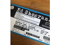 2x Ed Sheeran Tickets 1st June 2018 Hampden, Glasgow