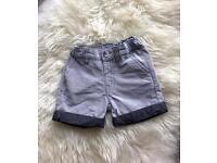 Linen shorts 3-6 months. Never worn
