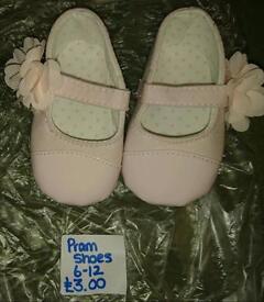 Pram shoes 9-12 months