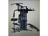 Klarfit 5000 Multi Home Gym Fitness Station - Black