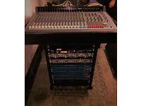 Live/Studio Sound Equipment BSS/Yamaha/Soundcraft spirit 8