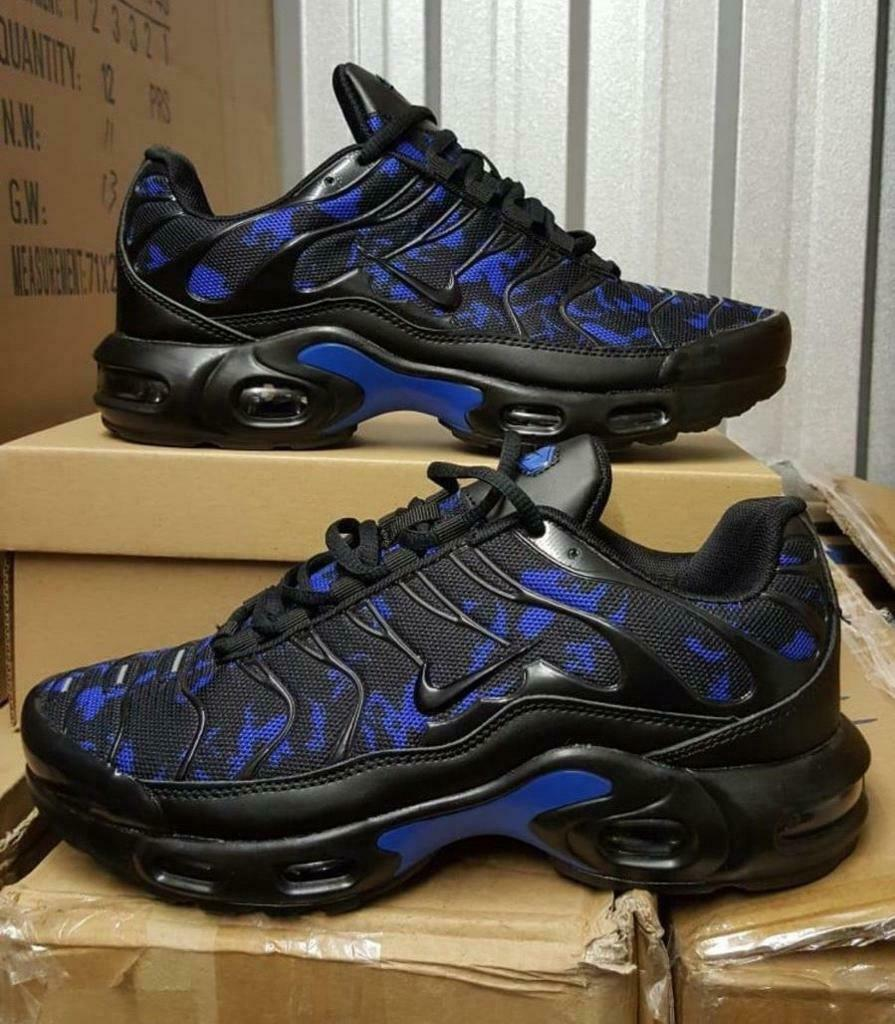 buy online d2368 39d3b BRAND NEW NIKE AIR TNS PLUS BLACK AND GREY ANY SIZE NIKE TRAINERS VMS PLUS  + 110WW | in Sandwell, West Midlands | Gumtree