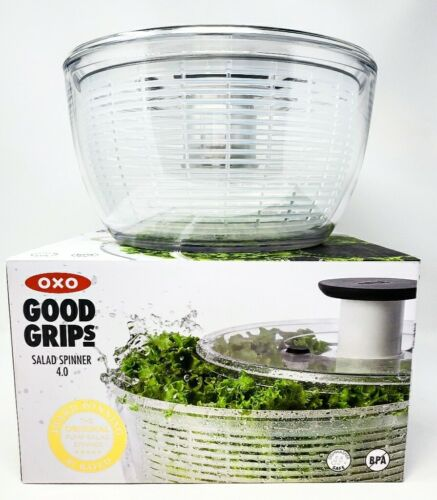 "OXO Good Grips Large 10"" Salad Spinner, Clear"