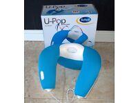 Scholl DRMA7597GUK U-Pop Vibrating Neck Heat Massager AC & USB