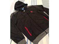 Adidas black Zippy top size M - £30