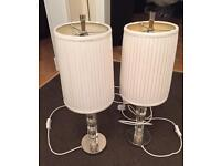 Free table lamps x2