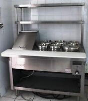 Zesto 4 foot Steam Table. Never Used. Restaurant Equipment.