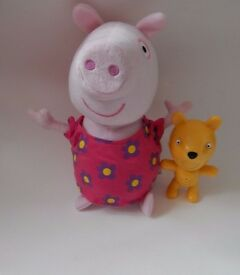 PEPPA PIG HIDE AND SEEK SOFT TOY