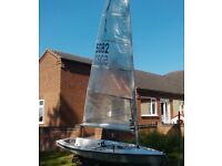 Sailing Dinghy. Solo 5082.