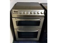 Zanussi Stainless Steel 60cm Ceramic Cooker - 12 Months Warranty - £190