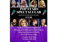 Pop Stars Spectacular- Kids Workshop