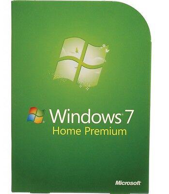 Scrap PC/Laptop with Dell HP Windows 7 Home Premium COA License Key 32 64bit