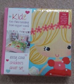 Girls Pretty Princess Single Duvet Cover Set **Brand New**