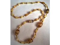 vintage fluorite necklace