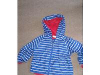 Boys' raincoat 18-24 months