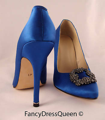 Something Blue Sex and the City Wedding Shoes EU 35-41 UK 3-7 US 5.5-9.5