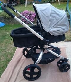 Used Mothercare Spin Pram and Pushchair very good condition