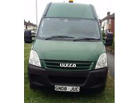 IVECO DAILY 35S12MBW, 2008,GREEN 3500 GROSS CAPACITY 2287CC,DIESEL, 3 SEATS, FULL SERVICE HISTORY
