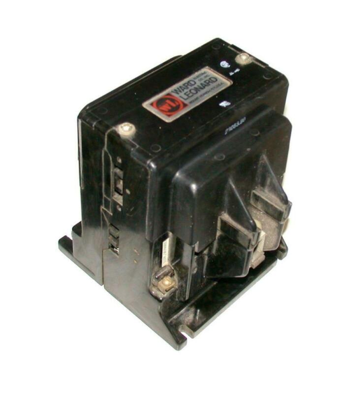 Joslyn Clark Ward Leonard 5DP3-10100  Single Pole Contactor 110 Amp 115 VAC Coil
