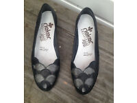 Rieker Riricon Women's Black Shoes Size 4