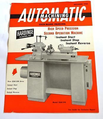 Hardinge Dsm59r High Speed Precision Brochure
