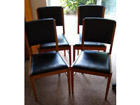 Set of four chairs - Russell of Broadway - Gordon Russell Ltd - Model no R202
