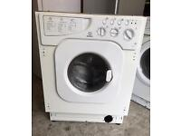 INDESIT WD12X Integrator Washer & Dryer Good Condition & Fully Working Order