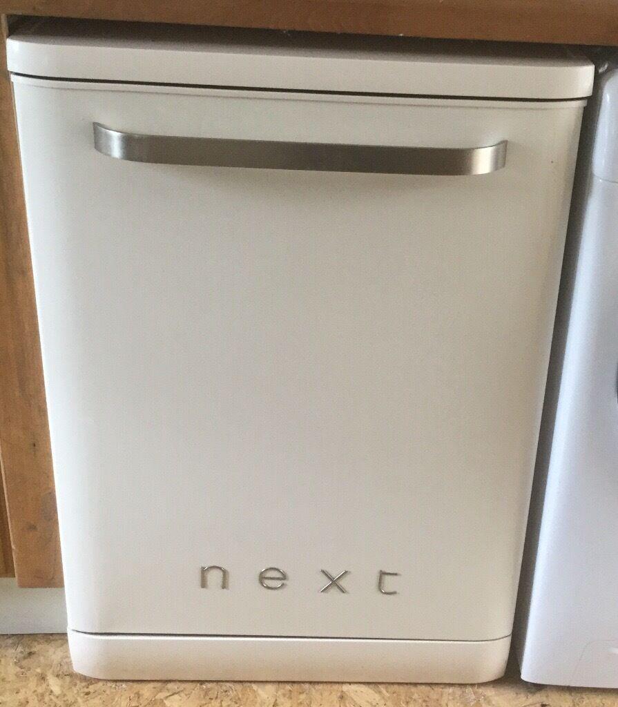 Next Retro Style Cream Dishwasher In Innerleithen
