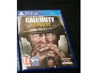 Call Of Duty WW2/WWII Sealed Brand New
