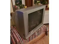 NOW TAKEN! Free Older style wide-screen TV
