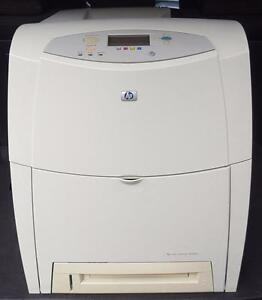 Imprimante HP Color LaserJet 4600DN Workhorse Printer