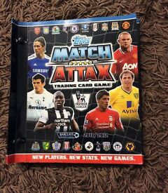 Match attax 2011/12 214 cards with binder £5 Bargain!