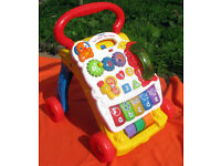baby walker unisex, good condition. Detachable activity tray. Collection Langley Moor