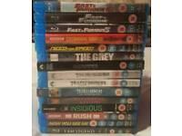 15x BLU Ray movies.