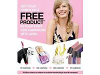Join Avon and earn FREE products as well as cash!