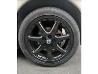 18 inch jaguar bbs wheels 5x108
