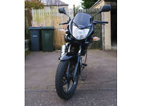 Honda CBF125 09 (Black) FOR SALE £1050 ono, 1 years MOT Good Condition, Garaged