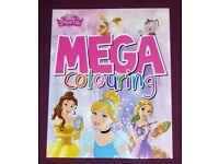 Mega Disney Princess Colouring Book