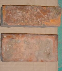 """Reclaimed Wirecut Bricks, 9""""x 3"""" approx 300 available"""