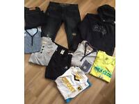 Men Teen Boys clothes bundle age 13 to 19 in good condition