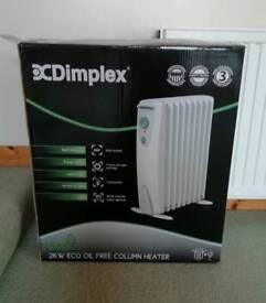 Dimplex oil free heater..