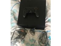 PlayStation 4 with games