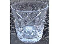 Royal Doulton Crystal Glasses - Royal Wedding 29th July 1981