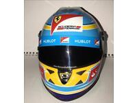 Fernando Alonso Miniature scale collectors Helmet