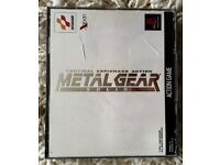 Game Metal Gear Solid for Japanese PlayStation.